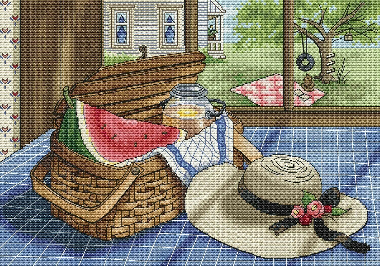 Подготовка к пикнику