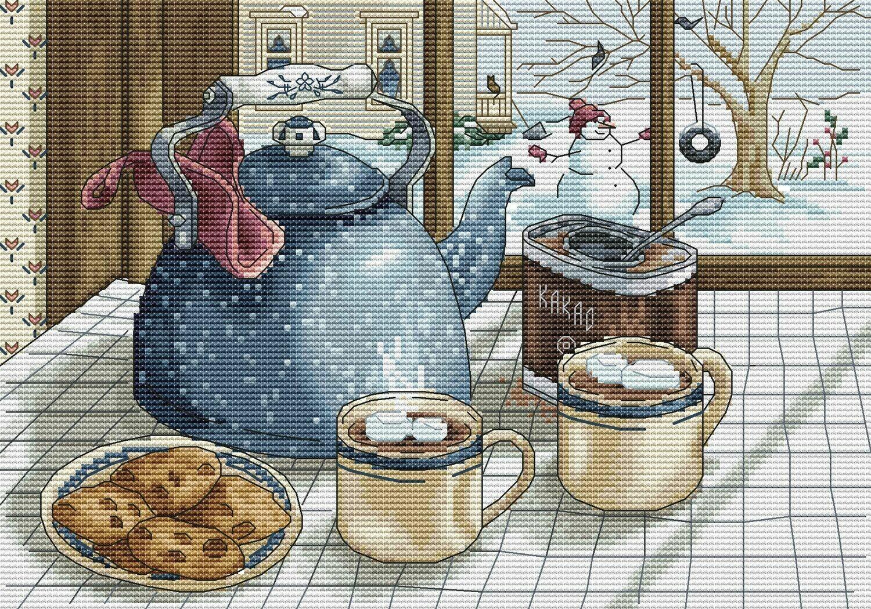 Тёплое какао