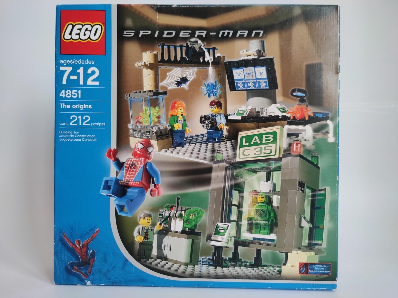 Lego 4851 The Origins
