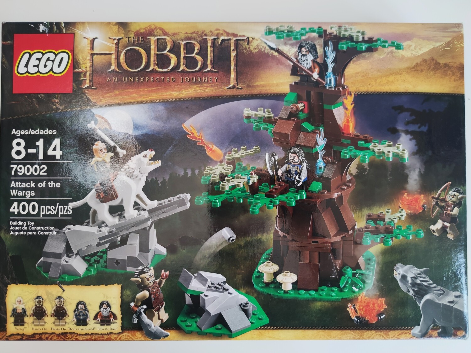 lego 79002 Attack of the Wargs