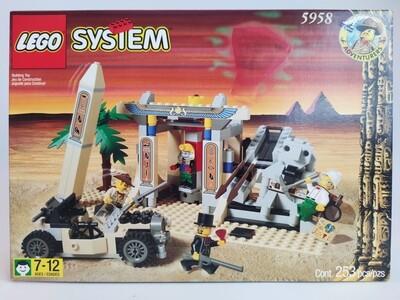 Lego 5958 Mummy's tomb