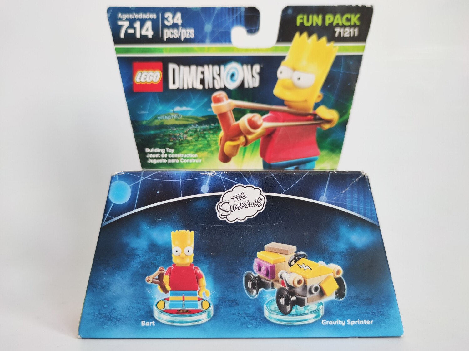 Lego 71211 The Simpsons (Bart and Gravity Sprinter)