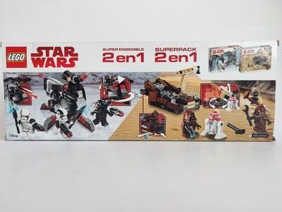 Lego Super Pack 2 in 1 (75197, 75198) 66597