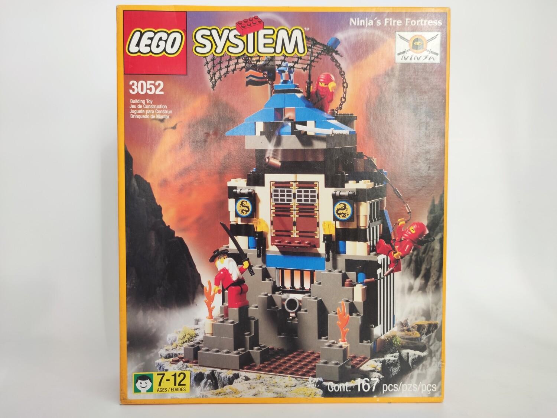 Lego 3052 Ninja's Fire Fortress
