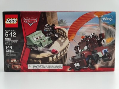 Lego 9483 Agent Mater's Escape