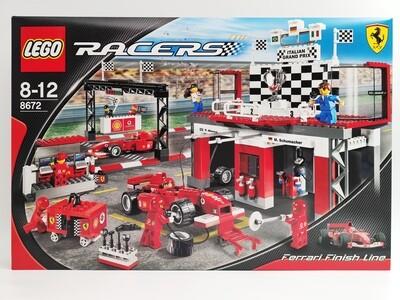 Lego 8672 Ferrari Finish Line