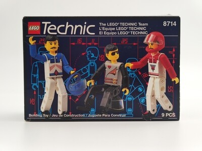 Lego 8714 The LEGO TECHNIC Team