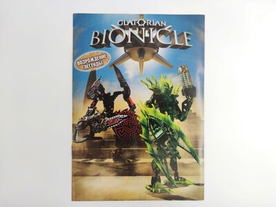 "Lego 79129 Комикс Bionicle Glatorian ""Возрождение легенды"""