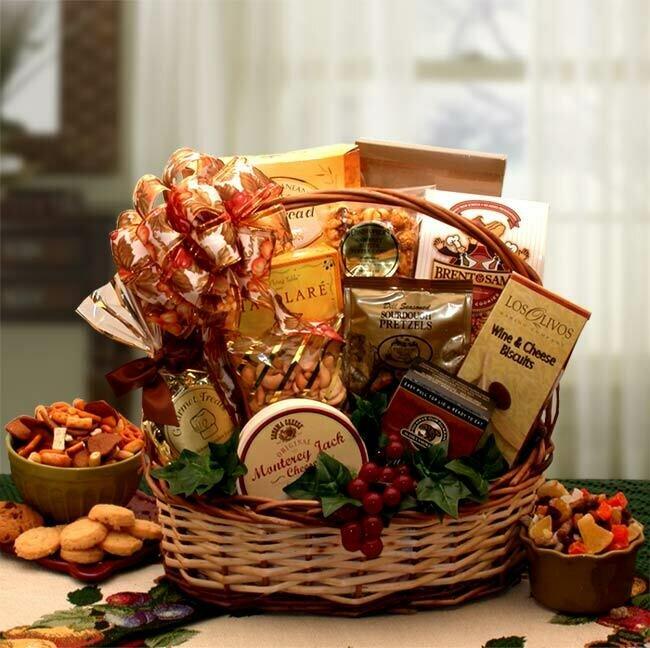 Gift Basket - Bountiful Favorites Gourmet