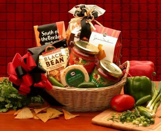 Gift Basket - Let's Spice it up! Salsa (Medium)