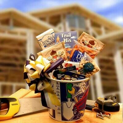 Gift Basket - Men At Work with $25 Lowes Gift Card