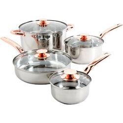 8 Piece Ansonville  Cookware Set - Sunbeam