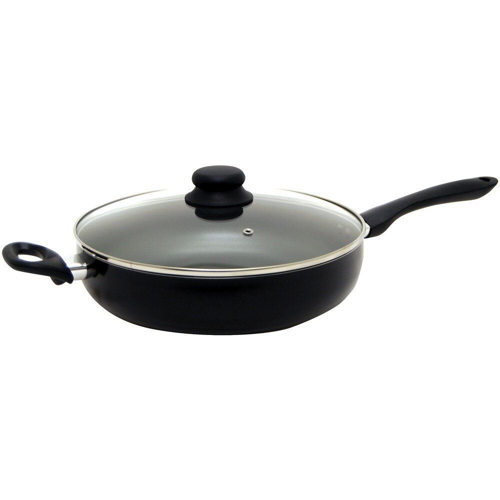 11 Inch Deep Fry Pan with Lid - Starfrit