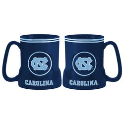 18 Ounce Game Time Coffee Mug - North Carolina Tar Heels