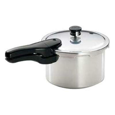 4 Quart Aluminum Pressure Cooker - Presto