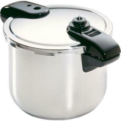 8 Quart Stainless Steel Pressure Cooker - Presto