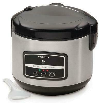 16 Cup Digital Rice Cooker - Presto