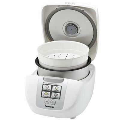10 Cup Rice Cooker Fuzzy Logic- Panasonic