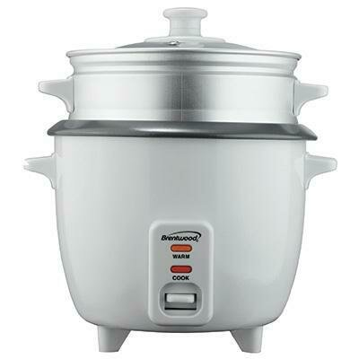 8 Cup Rice Cooker and Steamer - Brentwood