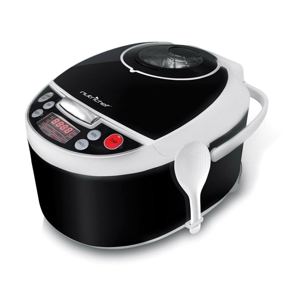 4.2 Quart Digital Pressure Cooker and Slow Cooker - NutriChef