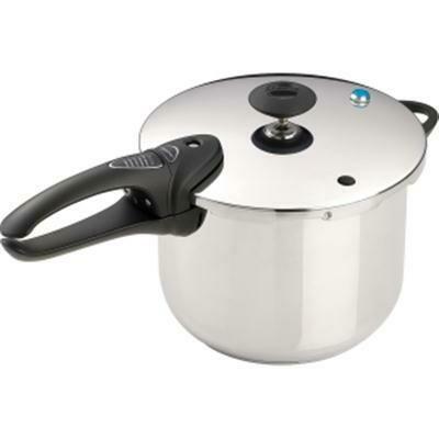 6 Quart Stainless Steel  Pressure Cooker Deluxe-Presto