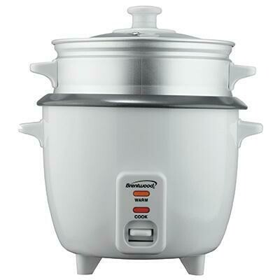 4 Cup Rice Cooker with Steamer - Brentwood