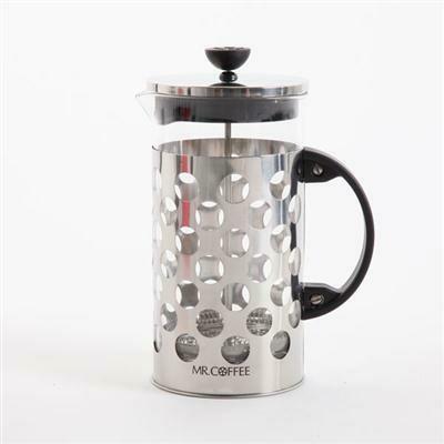 32 Ounce French Press Polka Dot - Mr. Coffee