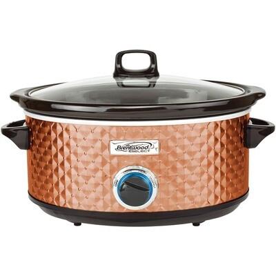 7-Quart Slow Cooker (Copper) - Brentwood