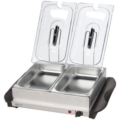 Buffet Server with Warming Tray - Betty Crocker