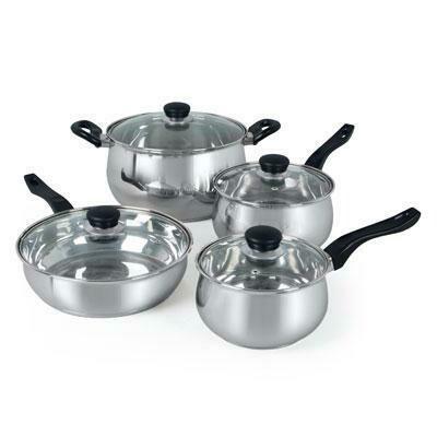 8 Piece Cookware Set - Oster