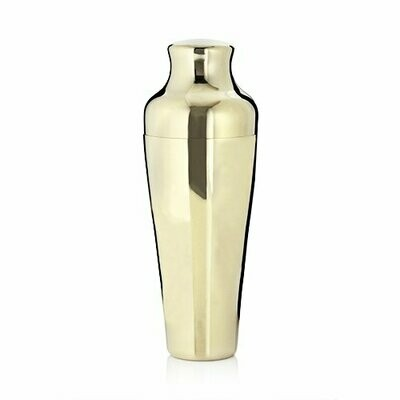 Cocktail Shaker, Gold Parisian - Viski