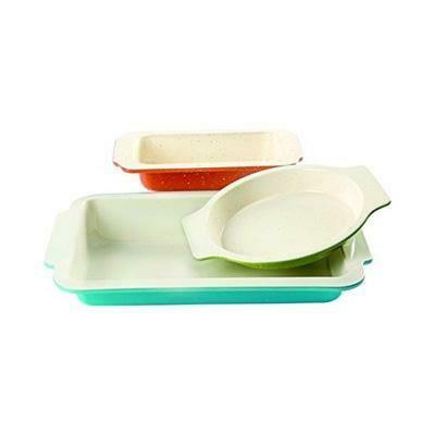 Ceramic Baking Pan Set of 3 - Gibson Home