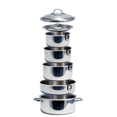 10 Piece Nesting Cookware Set - Kuuma