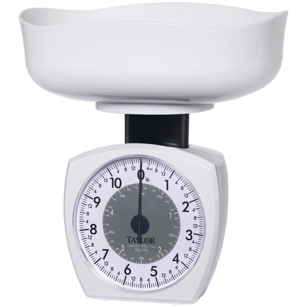 Kitchen Scale, 11lb - Taylor Precision Products