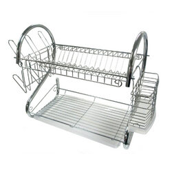 16-Inch Chrome Dish Rack - Better Chef