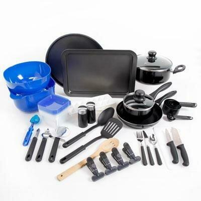 59 Piece Cookware Combo Set - Gibson Home