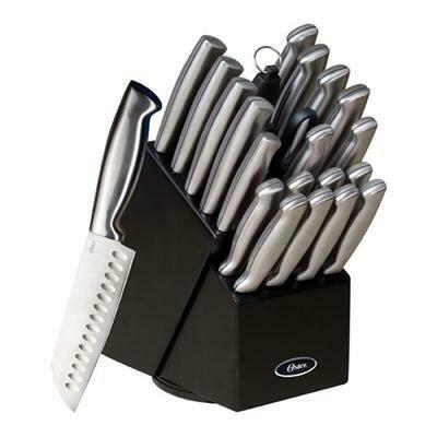 22 Piece Knife Set - Oster Baldwyn