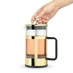 34 Ounce French Press Pot. Gold - Pinky Up