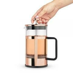34 Ounce French Press Pot, Rose Gold - Pinky Up