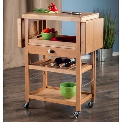 Barton Kitchen Cart - Winsome
