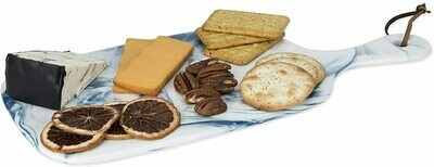 Seaside Marbled Ceramic Cheese Board - Twine
