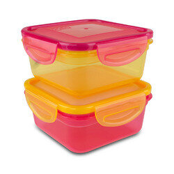 Air Tight Lunch Box 1.85 Cups 2  Pack - Cool Gear