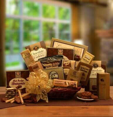 Gift Basket - A Gift Of Chocolate