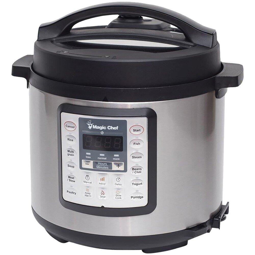 6 Quart 7-in-1  Multicooker - Magic Chef
