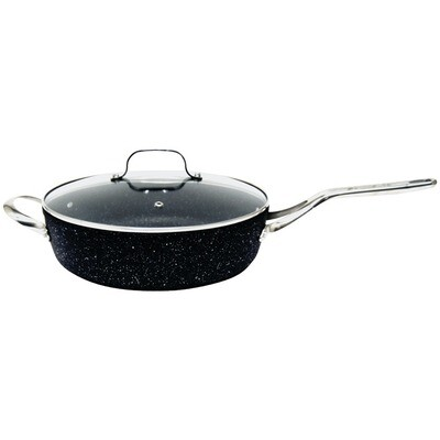 11 Inch, 4.7-Quart Saute Pan with Glass Lid -  Starfrit