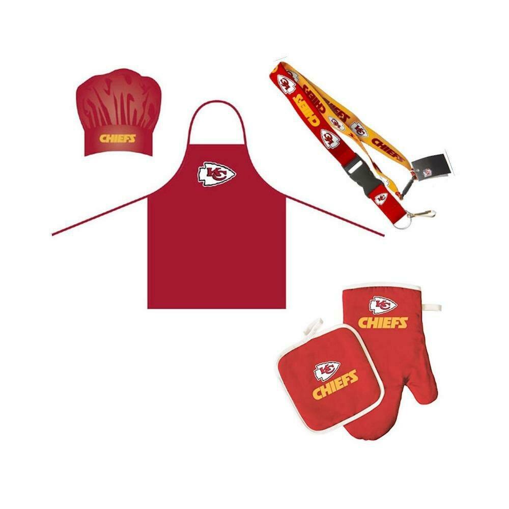 BBQ Set - Kansas City Chiefs