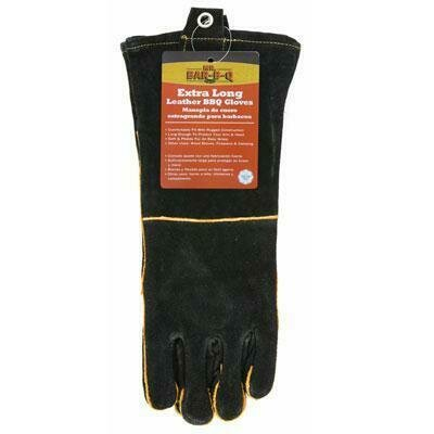 Gloves - Long Leather BBQ