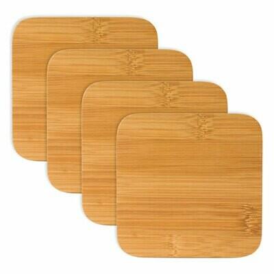 Bamboo Coasters, Set of 4 - True