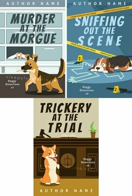 Doggy Detectives trilogy