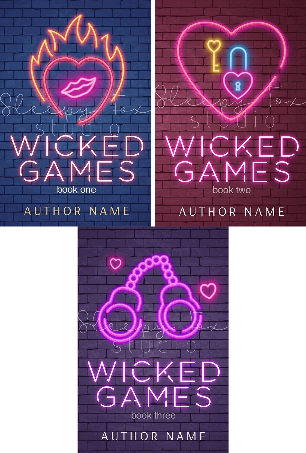 Wicked Games Trilogy